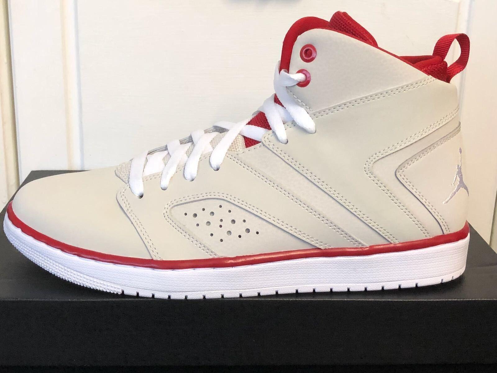 Los últimos zapatos de descuento para hombres y mujeres Jordan Flight leyenda Crema de Color Zapatos para hombre Talla Uk8 42.5 Nueva con caja
