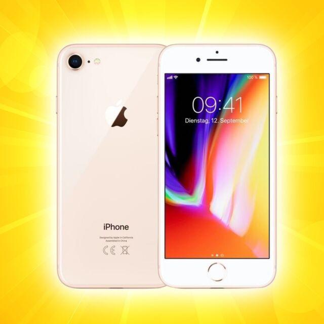 Apple   Iphon   8   64GB Gold    Ohne Simlock    NEU