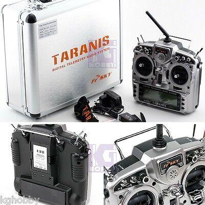Genuine FrSky X9D Plus Taranis Radio TX RC QAV250 Quad Multirotor w/ X8R & Case