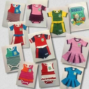Baby Newborn Toddler Girl Boy Clothes Athletics Outfit Sets 100