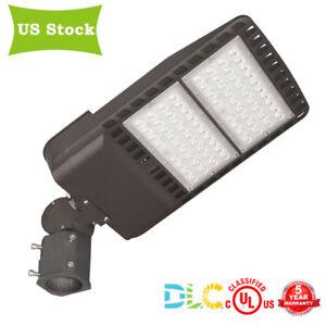 Details About 200w 26000lm Car Auto Dealership Parking Lot Lighting Fixture Led Pole Light Dlc