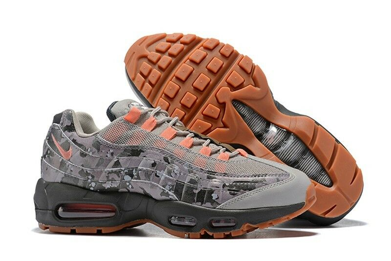 Nike Air Max 95 Essential 'Camo' Mens Sneakers (AQ6303-001)