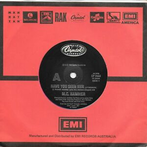 M-C-HAMMER-HAVE-YOU-SEEN-HER-7-034-45-VINYL-RECORD-1990