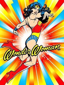 Wonder-Woman-Lynda-Carter-TV-Series-70-039-s-Sticker-Magnet