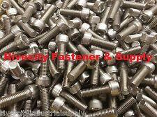 (4) M8-1.25x25mm Socket / Allen Head Cap Screw Stainless Steel 8mm x 25mm