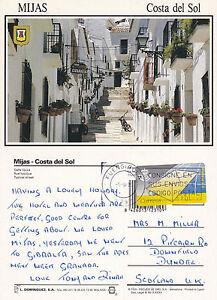 1995-MIJAS-COSTA-DEL-SOL-SPAIN-COLOUR-POSTCARD