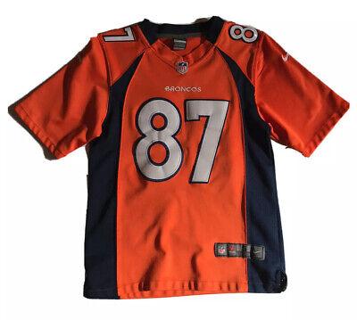 Denver Broncos Eric Decker No 87 NFL Nike Football Jersey Youth Small   eBay