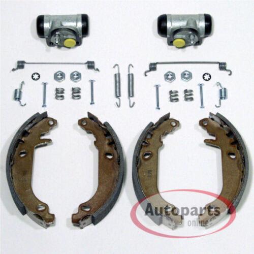 Renault Megane Bremsen Bremsbacken Satz 2 Radbremszylinder für hinten