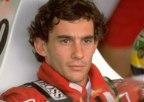 Ayrton Senna 2 Photo Brazilian Racing Driver Formula 1 Legend Print Cars Poster
