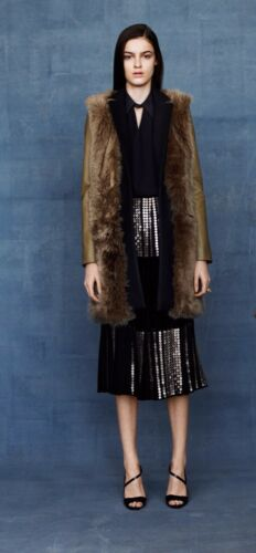 BALENCIAGA | Women's Mutton Fur Leather sleeves A… - image 1