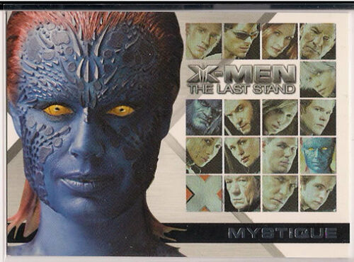 X-Men 3 The Last Stand Trading Cards Casting Call Chase Card CC7 Mystique