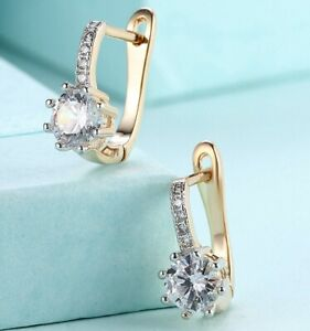 18K-Gold-Plated-Leverback-Cushion-Halo-Leverback-Earrings-with-Swarovski-Crystal