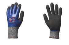 ASATEX Schnittschutz-Handschuh 5099 blau//schwarz 10 Paar 9 Gr