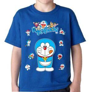 DORAEMON-t-shirt-gatto-spaziale-tshirt-Nobita-Guglia-cartoni-boing-manga-anni-80