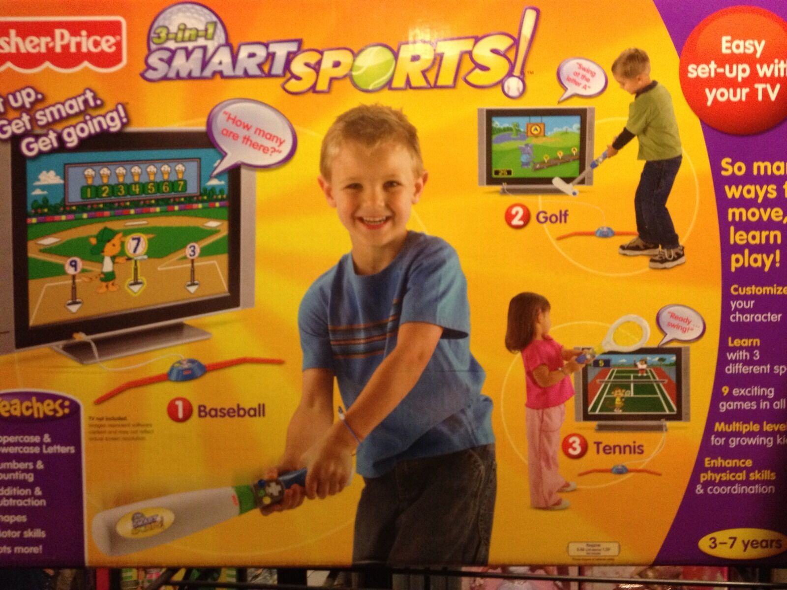 NYA Fisher -Price 3 - in - 1 smkonst sport