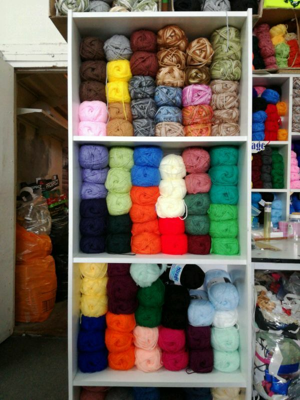 Haberdashery. Wool and haberdashery store