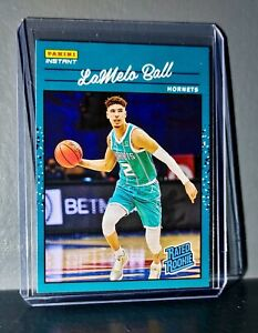 Lamelo Ball 2020-21 Panini NBA Instant #3 Rated Rookie Retro Card 1/3558