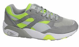 Puma R698 progressivo lacci grigio giallo Sneaker Uomo 362046 02 P5
