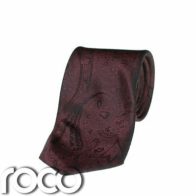 Attivo Color Vinaccia Per Ragazzi Cravatta,motivo Cachemire Cravatte,formali Da