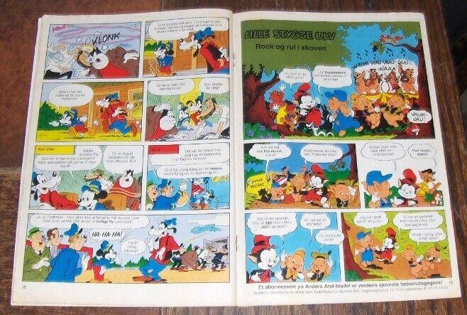 WALT-DISNEY's ANDERS AND NR. 12 - 1987, Walt Disney,