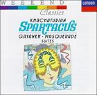 Khachaturian: Spartacus; Masquerade; Gayaneh (CD, Oct-1989, London)