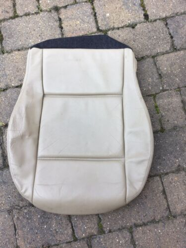 Mazda MX-5 MK2 1997-2001 Beige//Cream Leather Driver R//H Seat Cover from Germany