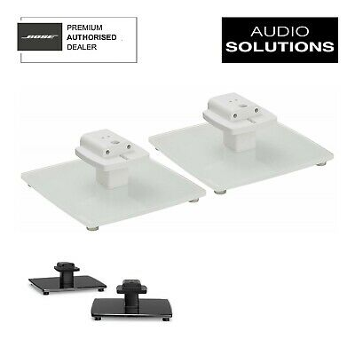 Bose OmniJewel Table Stands White Pair