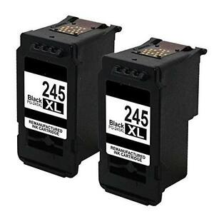 2-PK-PG-245XL-Black-Ink-Cartridge-For-Canon-PIXMA-iP2820-MG2420-MG2520-Printers