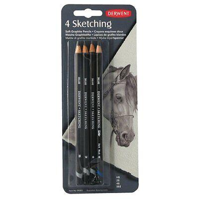 Derwent 4 Sketching Pencil Set NEW (2300485)