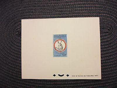 April 1963-sportspiele Offen Obervolta/burkina Faso Epr.de Luxe Michel-kat-nr.119 Briefmarken