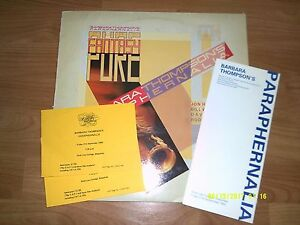 BABARA-THOMPSON-PURE-FANTASY-LP-TM-SIGNED-2-TICKETS-PROGRAMME
