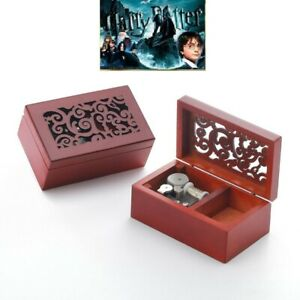 CLASSIC Rectangle jewelry Music Box ♫ Harry Potter Hedwig/'s Theme Soundtrack ♫