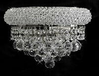 Over Stock Sale Bangl 12 Crystal Wall Light Chorme Fixture -precio Mayorista