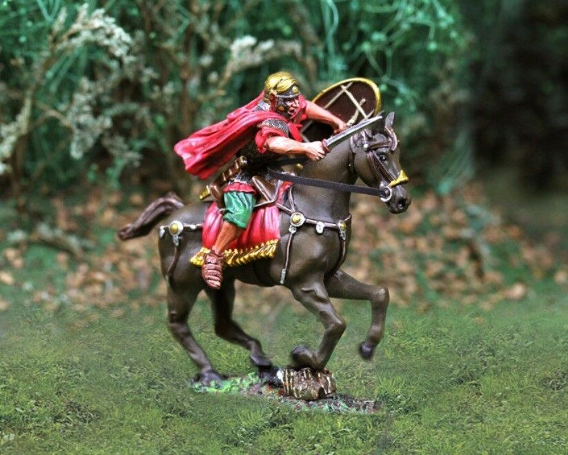 THE COLLECTORS SHOWCASE ROME 43AD CS00735 ROMAN CHARGING MIB