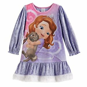 white Disney Sofia the First Girls Nigthgown 2016 Collection
