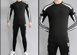 Adidas Squadra 21 Training Top Bottom Sets Pairs Athletic Black GN5792_GK9545