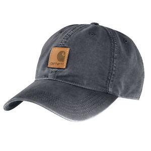 Carhartt-Baseball-Cap-Odessa-Basecap-Schirmmuetze-Kappe-mit-Front-Logo-Neu