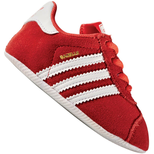adidas Baby Shoes Gazelle Crib Bb0323 Red 20 for sale online  5d1f7d5df