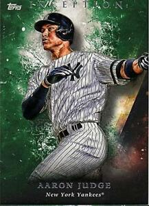 2018-Topps-Inception-Baseball-Green-Parallel-Singles-Pick-Your-Cards