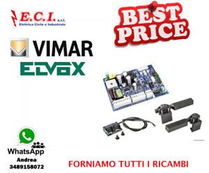 Elvox-Vimar-RA98-Satz-Umruestsatz-Card-Tore-Gleitend-12V-cc-ab-Ec-30