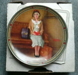 Vintage-Norman-Rockwell-Plate-A-Young-Girls-Dream-limited-edition-in-box