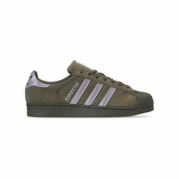 Mens adidas Superstar Reflective Casual Base Green Silver Night Cargo B41988 GRN