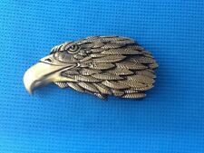 3D VULTURE BOLD EAGLE HAWK HARRIER FALCON BIRD OF PREY RAPTOR KITE BELT BUCKLE