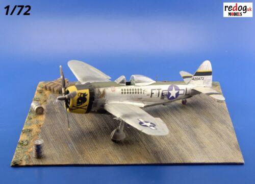 D30 Redog 1//72 Zweiter Weltkrieg USAF Display Flugplatz Basis Plus Zubehör