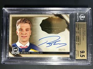 2018-19-The-Cup-Robert-Thomas-GOLD-Rookie-Class-Of-19-75-BGS-9-5-10-Auto