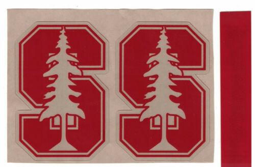 Stanford Cardinals FULL SIZE FOOTBALL HELMET DECALS W// STRIPE 3M QUALITY