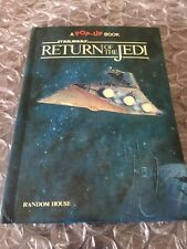 Star Wars - Return of the Jedi  Pop-Up Book  (1983, Hardcover) 1st Printing