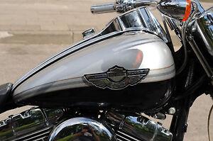 Harley Davidson 100th Anniversary gas tank decals stripes stickers
