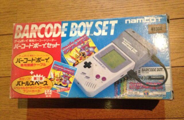 GAMEBOY BARCODE BOY SET 1992 NAMCOT NEW