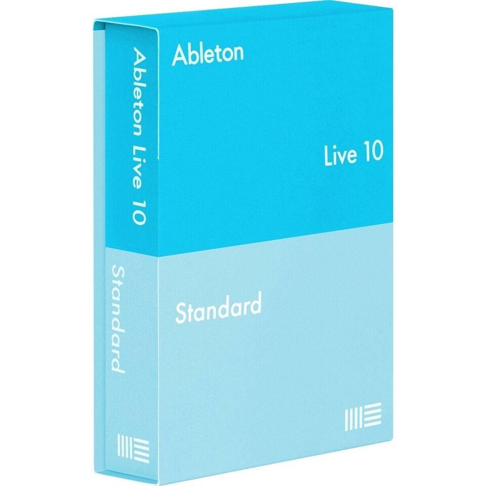 25300, Ableton Live 10 Standard software